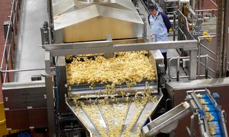 Kettle Chips Production
